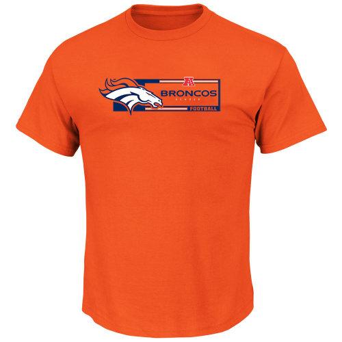 Denver Broncos Classic Orange AFC NFL T shirt