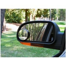 Convex BLIND SPOT MIRROR Towing Reversing Driving SELF-ADHESIVE Car Van Bikes x2