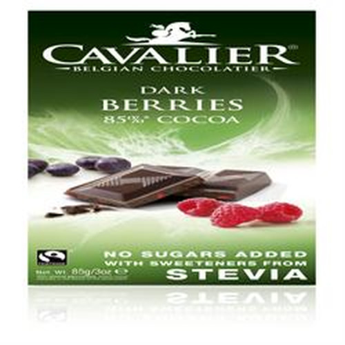 Cavalier 20% off Belgian Dark Chocolate Dark Berries 85% Cocoa
