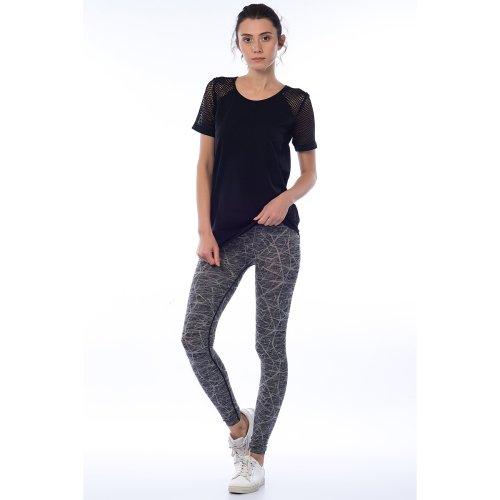 Jerf- Womens-Ayon -Grey Melange - Active Leggings