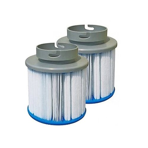 Affordapool 'Season Long' Reusable MSPA Hot Tub Filters x2