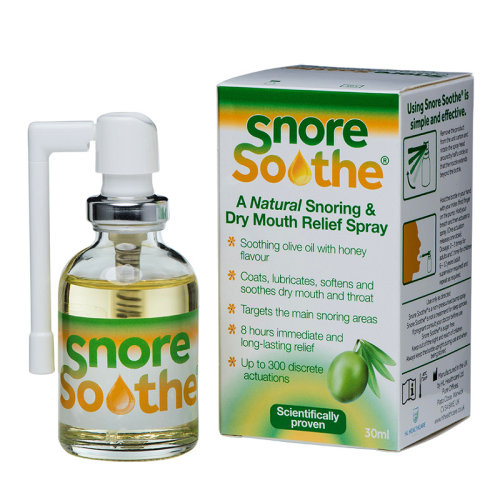 Snore Soothe Snoring & Dry Mouth Relief Spray 30ml