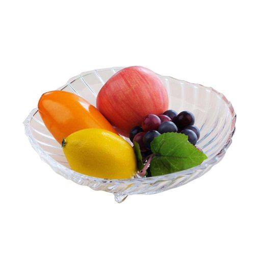 Transparent Home Fruits/Vegetables Container Salad Plate Tabletop Decor