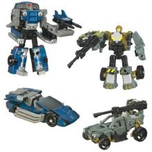 Transformers Universe - Cybertron Series - The Data War - CLOCKER Vs HARDTOP