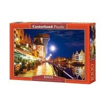 Csc103379 - Castorland Jigsaw 1000 Pc - Gdansk Waterfront at Night