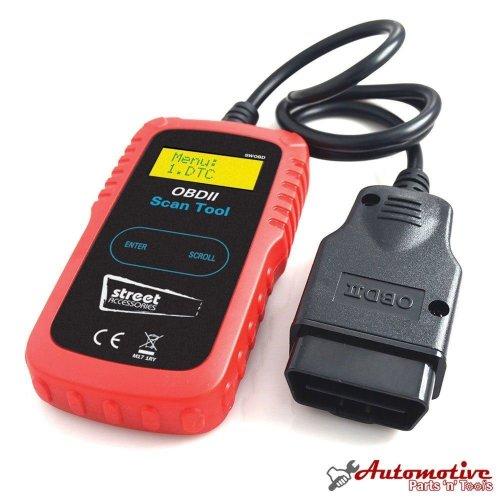 Streetwize OBDII Car Fault Diagnostic Code Reader Engine Scanner Reset Tool