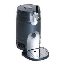 HOMCOM Electric Beer Dispenser, 5 Liter-Black
