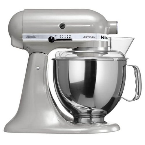 KitchenAid KSM150 Artisan Stand Mixer - Metallic Chrome