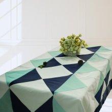 [Simple Tonal] Handmade Tablecloth Durable Canvas Table Cover, 180*140 cm