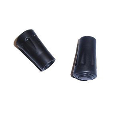 Yellowstone Trekking Pole Rubber Tips Black  Set of 2