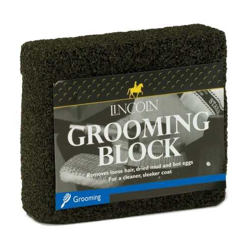 Lincoln Horse Grooming Block - Removes Loose Hair and Dirt