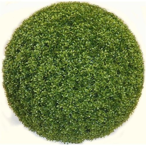 Autograph Foliages AUV-150054 24 in. Boxwood Ball Topiary, Green