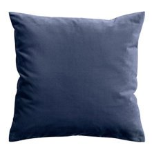"17.7""x17.7"" Premium Solid Color Throw Pillow Soft Pillow Cushion, Blue"
