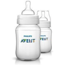 Philips Avent Classic+ Feeding Anti-Colic Bottle 260ml Twin