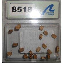 SINGLE BLOCK -WALNUT- 5 mm (20u.) - Artesania Latina - Accessories: No 5 Series