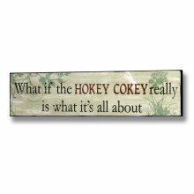 Hokey Cokey Plaque