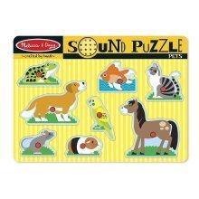 Melissa & Doug - 10730 - Pets Sound Puzzle