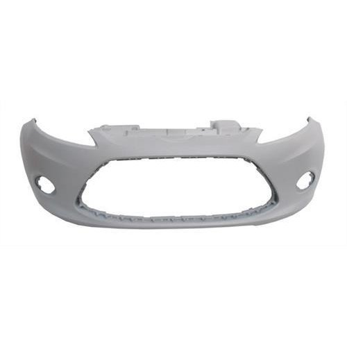 Ford Fiesta 5 Door Hatchback  2008-2012 Front Bumper With Lamp Holes - Primed (Standard Models)