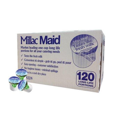 Millac Maid Milk Jiggers 120's