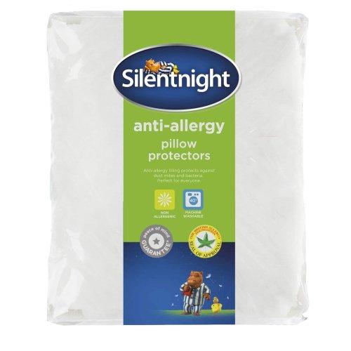 Silentnight Anti-Allergy Pillow Protector Pair