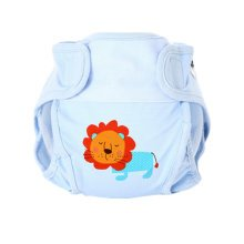 Lovely Lion Baby Leak-free Diaper Cover With Magic Tape (6-12 Months)