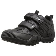 Geox Boys Low Top Trainer Black