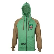 Guardians Of The Galaxy 2 Groot Hooded Zip Green/Brown M Size (HD571041GOG-M)