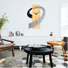 Creative Cartoon Mute Wall Clock Fashionable Living Room Style Home Decor