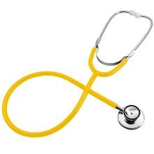 Trixes Fancy Dress Stethoscope | Yellow Toy Stethoscope