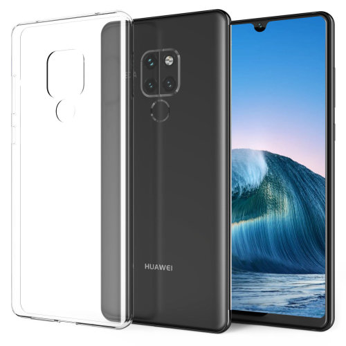 iPro Accessories Huawei Mate 20 X Case, Huawei Mate 20 X Cover, Huawei Mate 20 X Clear Case, Mate 20 X Gel Case, Crystal Clear Back Cover with TPU Bumper [Impact Resistant, Shock Absorption] Transparent Case