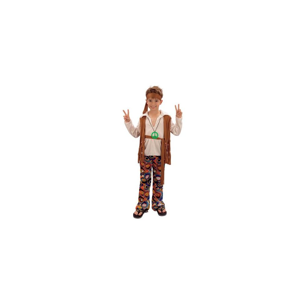 Large Boys Hippy Boy Costume