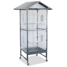 A Mobile Aviary Suitable for Finches and Parakeets Indoors Outdoors