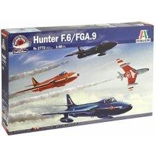 HAWKER HUNTER F MK 6/9 - AIRCRAFT 1:48 MODEL - ITALERI 2772