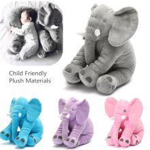 Little Baby Children Long Nose Lumbar Elephant Sleeping Pillow Hold Doll Toys