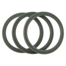 Kenwood FP543 and FP580 Liquidiser Sealing Base Ring - Ridged (Pack Of 3)