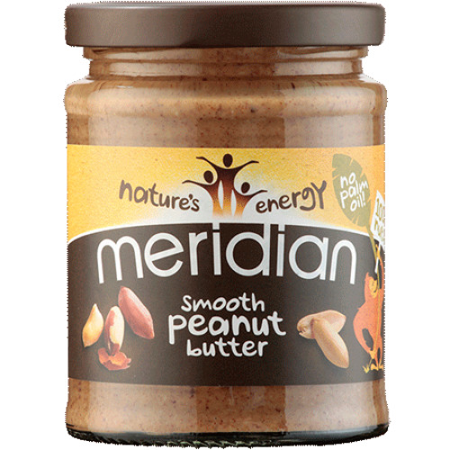 Meridian Natural Smooth Peanut Butter - No Added Sugar and Salt - 280g