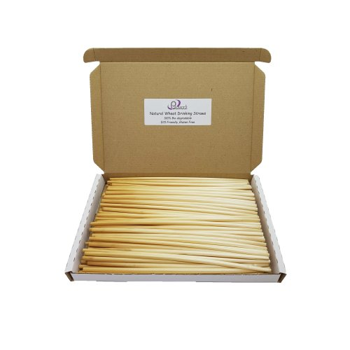 Natural Wheat Drinking Straws Eco-Friendly 100% Biodegradable A+ Grade Straw