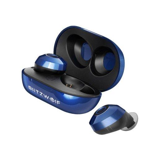 Blitzwolf® Mini True Wireless Earbuds Earphone Portable Charging Box