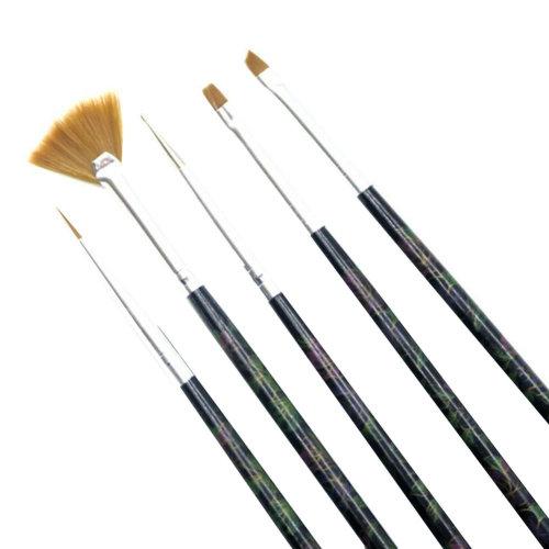 5 PCS Toe Nail Art Pens Nail Brush Art Nail Art Tools  Nail Supply Nails Design