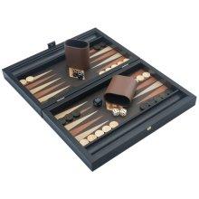 Travel Backgammon Set - The Manopoulos Wenge and Oak Edition