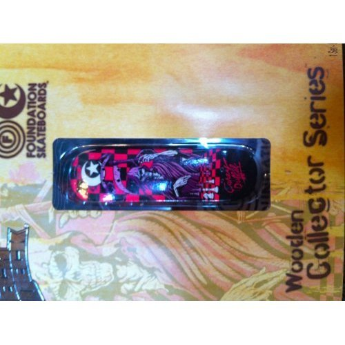 Tech Deck Wooden Collector Series Foundation Skateboards Corey Duffel