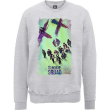 Medium Dc Comics Suicide Squad Movie Poster Men's Sweatshirt. -