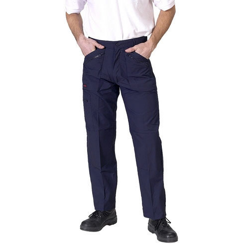 """Click AWTN30S Action Work Trousers Navy 30"""" Short"""