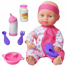 Baby With Feeding Accessories Play Set | Baby Doll Feeding Play Set