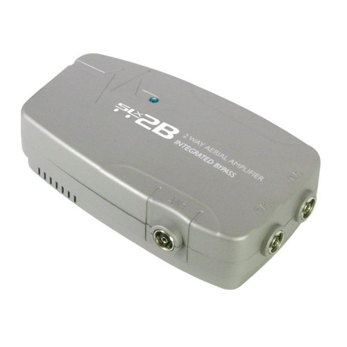 Philex SLx2B Aerial Amplifier and Signal Booster 2way  Integrated Digital Bypass