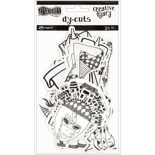 Dyan Reaveley's Dylusions Creative Dyary Die Cuts-Set 7