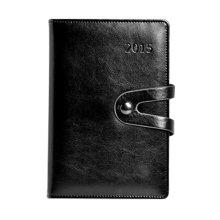 Office Supplies--A5 Business Notepad/2015 Schedule Book,BLACK
