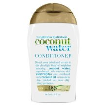 OGX Weightless Hydration Coconut Water Conditioner, 3 Fluid Ounce