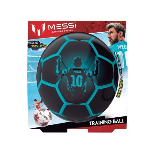 Messi Training System Pro Training Football Black and Blue Refresh Size 3