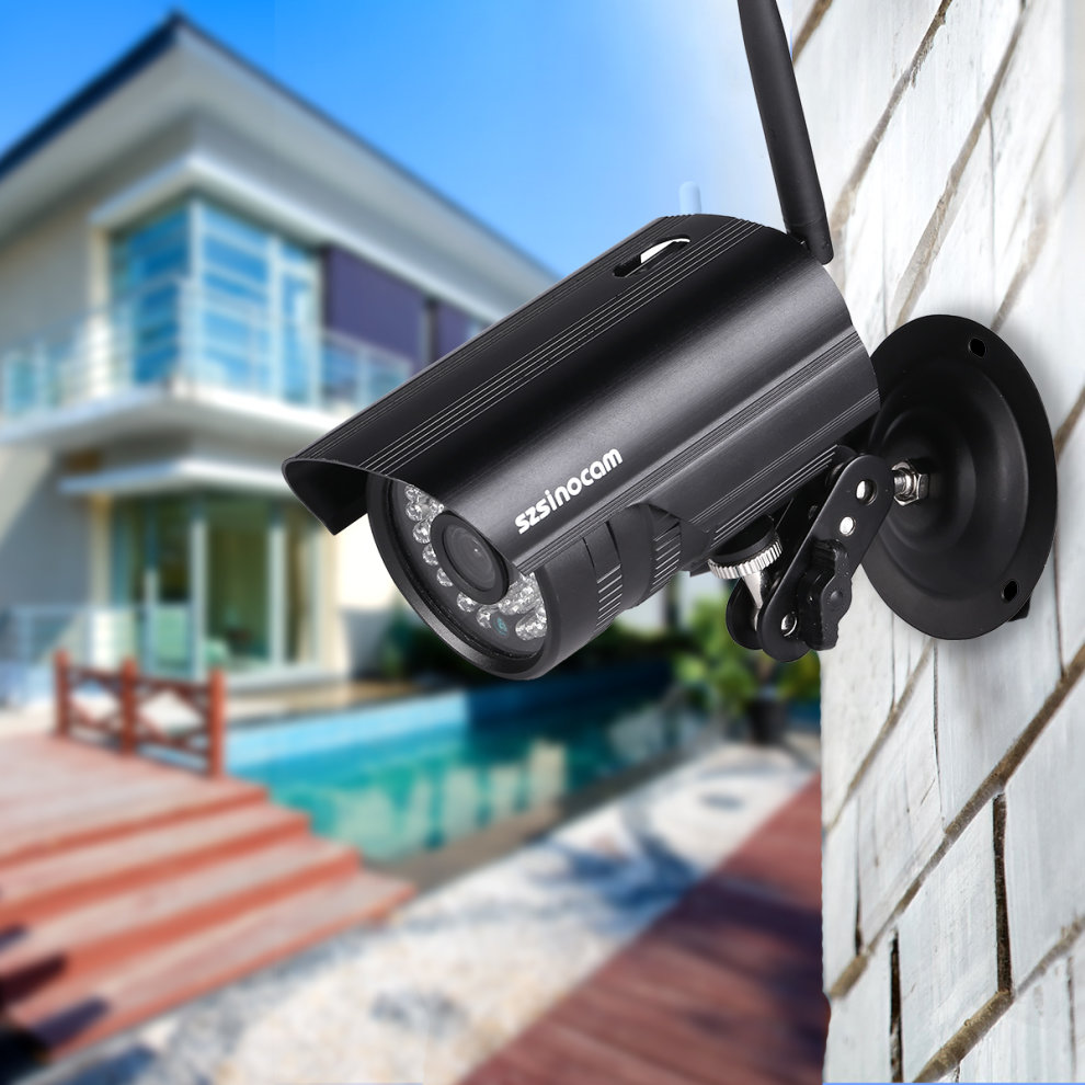Outdoor 720P Wireless IP Camera Home CCTV Security WiFi Night Vision